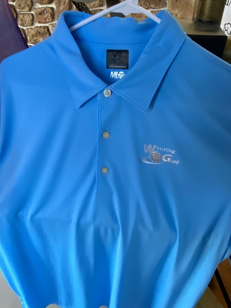 Winning Golf Embroidered Shirt