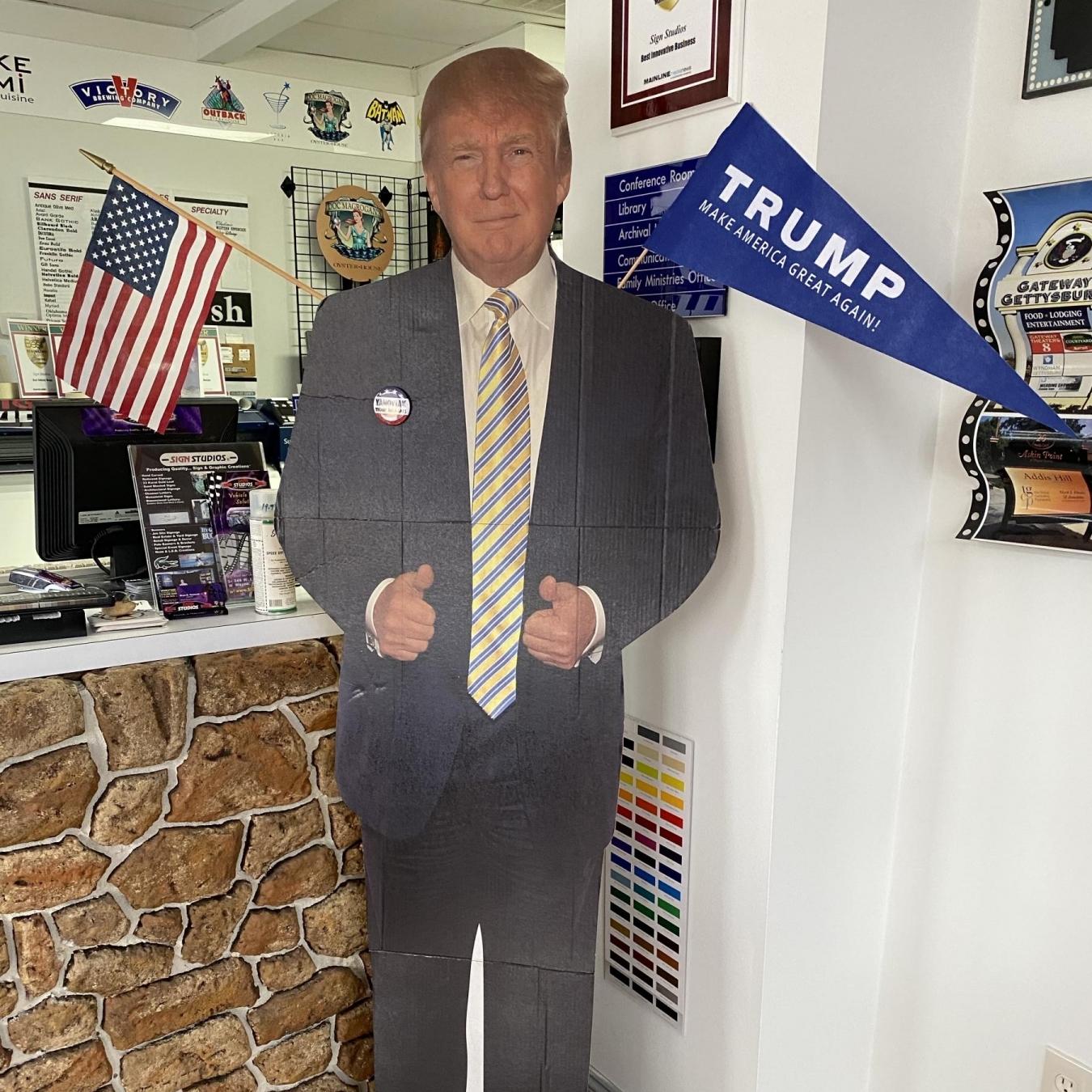 Donald Trump Cutout
