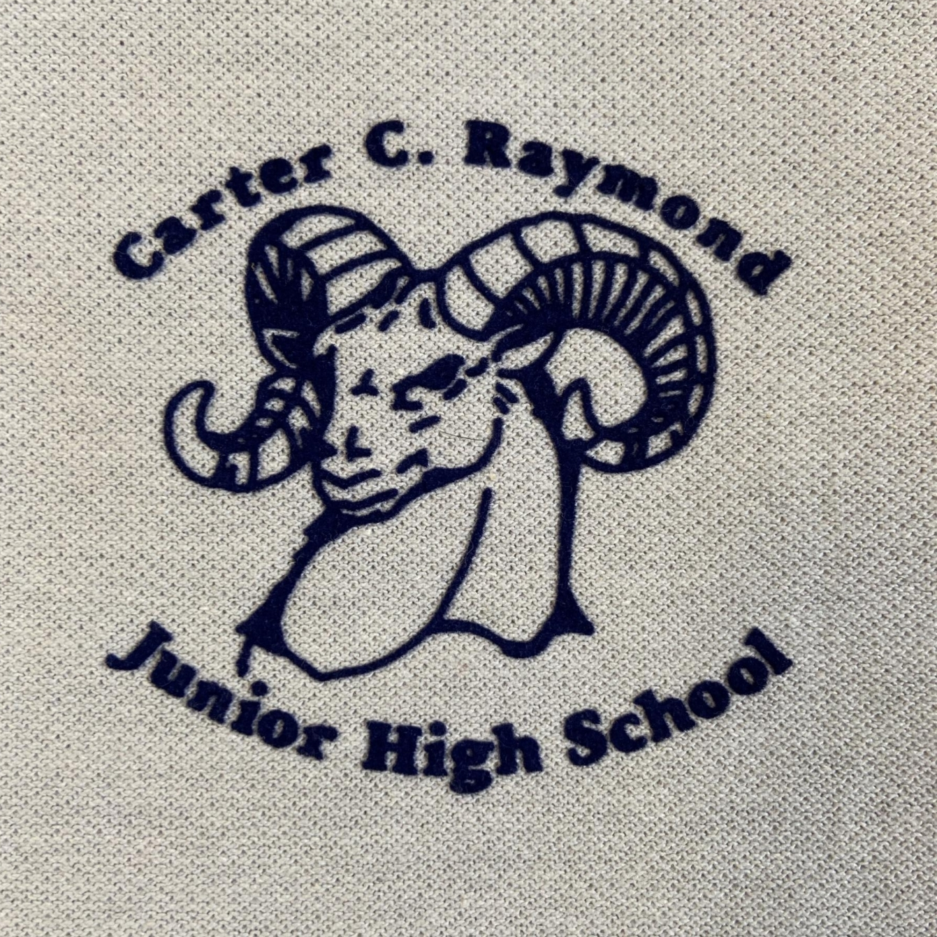 Carter C. Raymond Junior High School Patch Sign Studios
