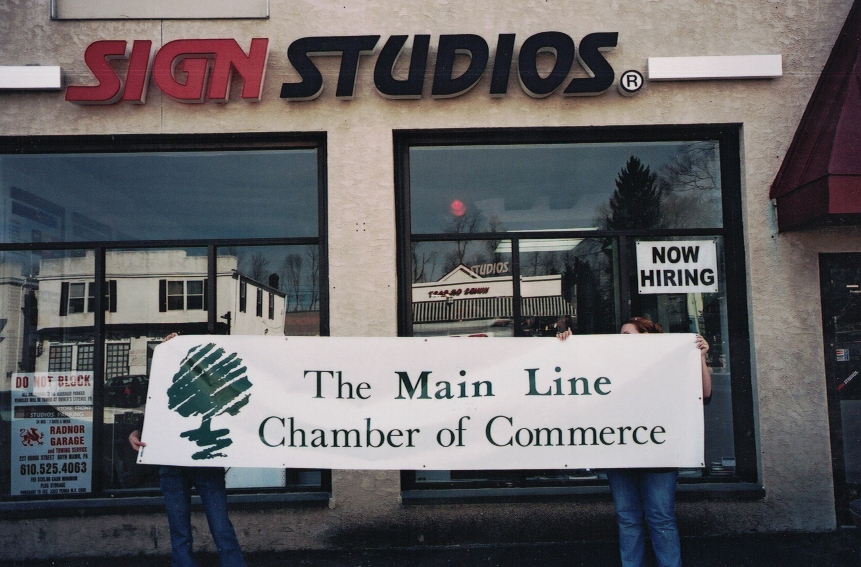 Chamber of Commerce Banner Sign Studios
