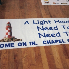 Church Lighthouse Sign Studios