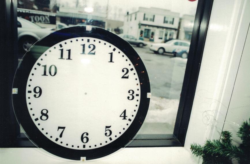 Clock Trade Show Sign Studios
