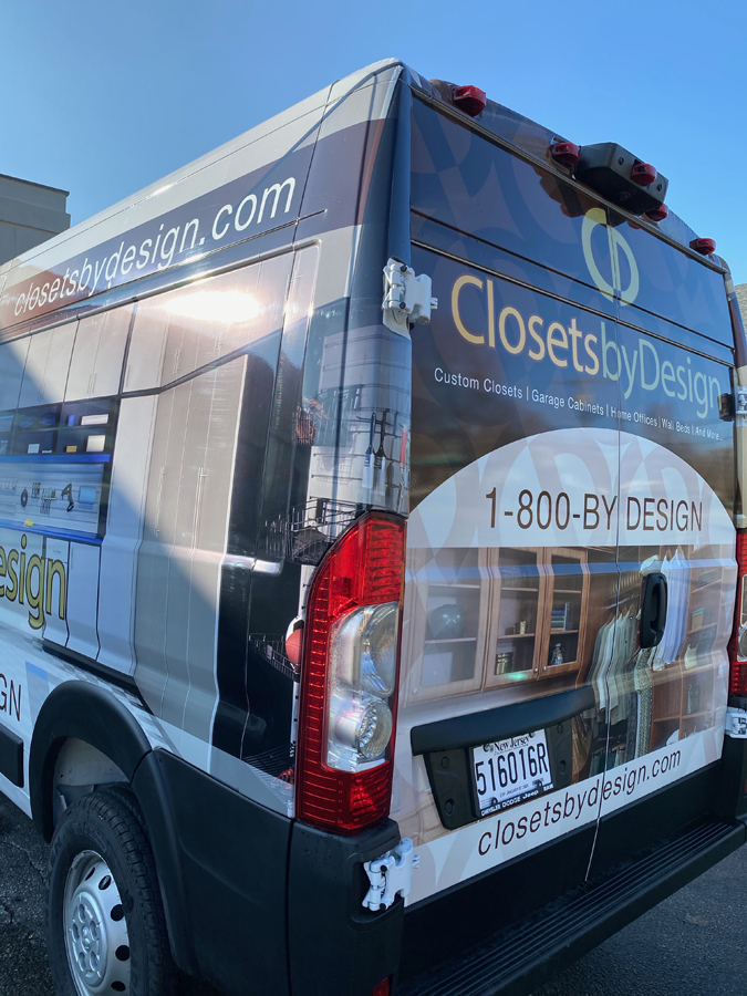 Closets by Design back Sign Studios