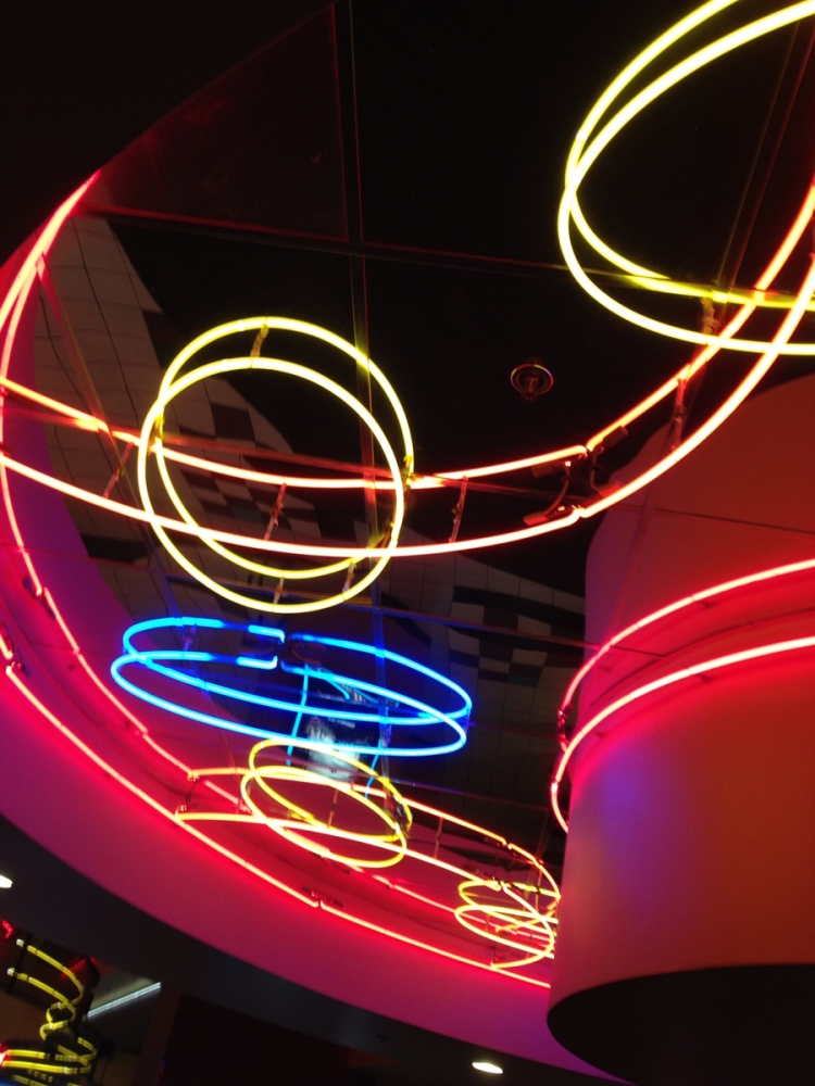 Cocktails Neon Ceiling