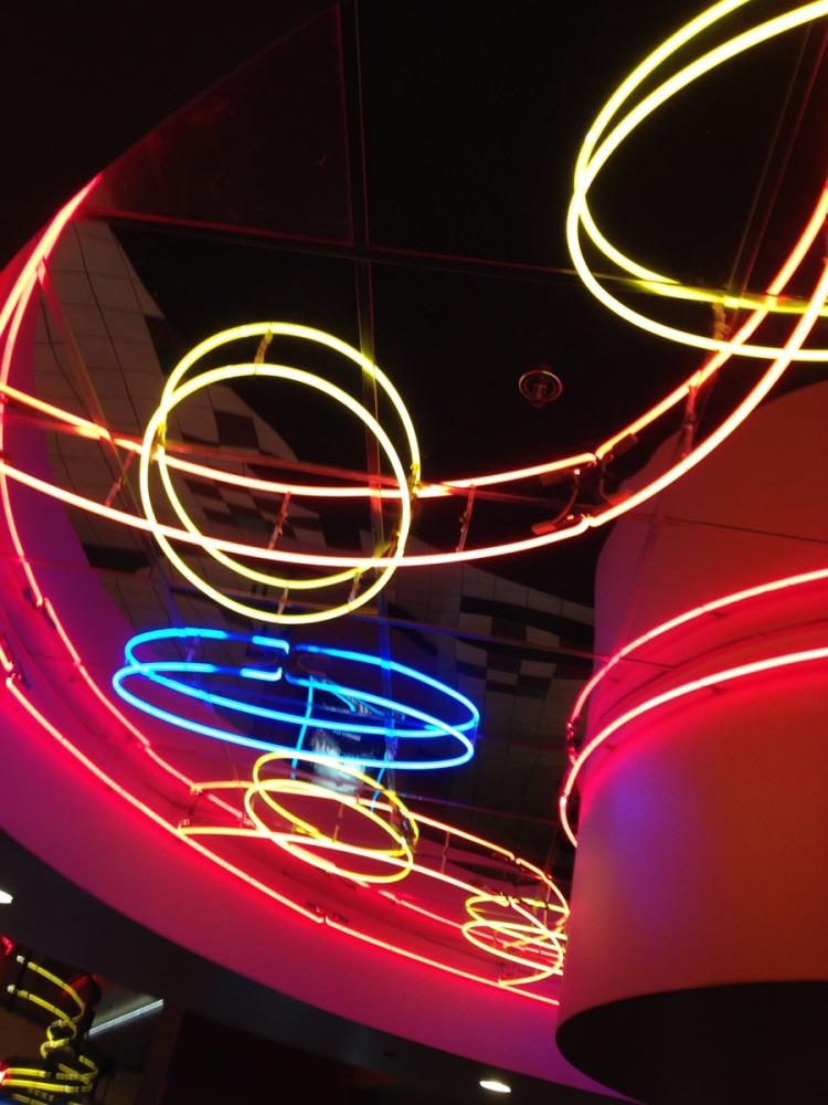 Cocktails Neon Ceiling
