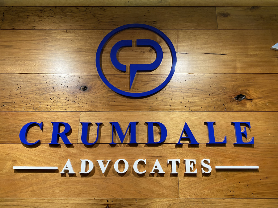 Crumdale Wall advocates Sign Studios