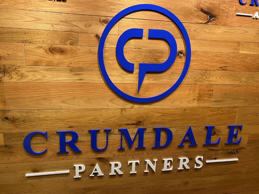 Crumdale Wall partners Sign Studios