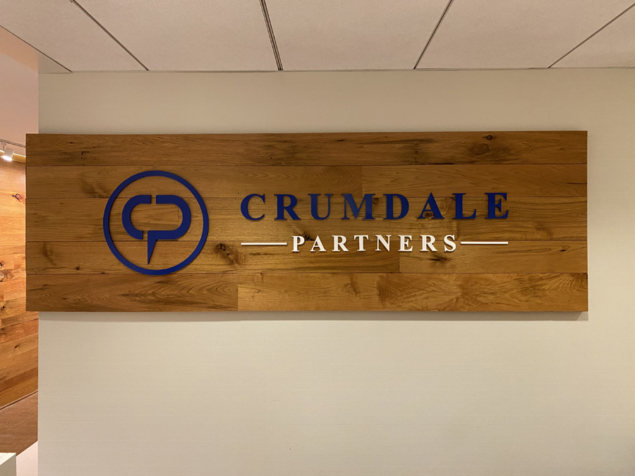 Crumdale small wall Sign Studios