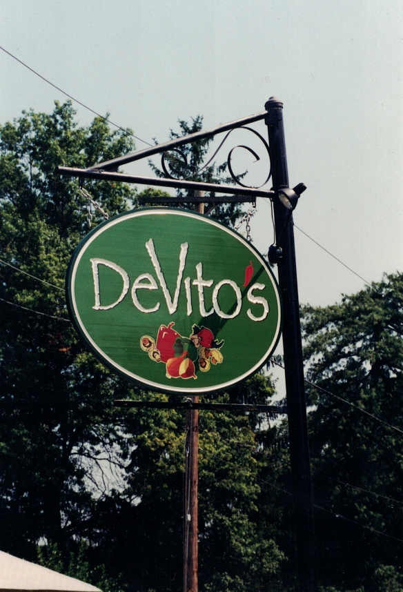 Devito's redwood Sign Studios