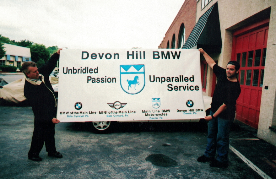 Devon Hill auto Sign Studios