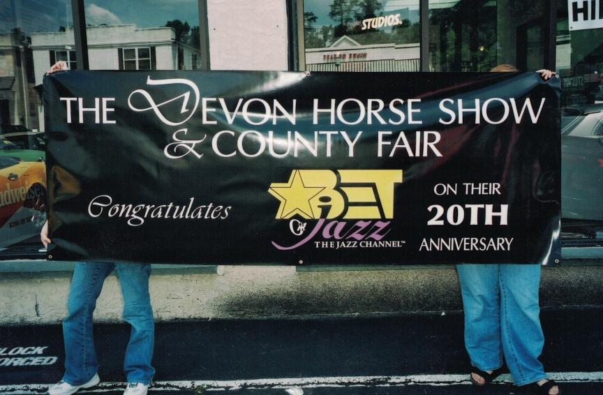 Devon Horse Show Jazz Banner