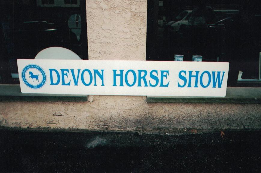 Devon Horse Show Corro