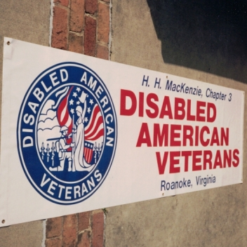 Disabled American Veterans Banner Sign Studios