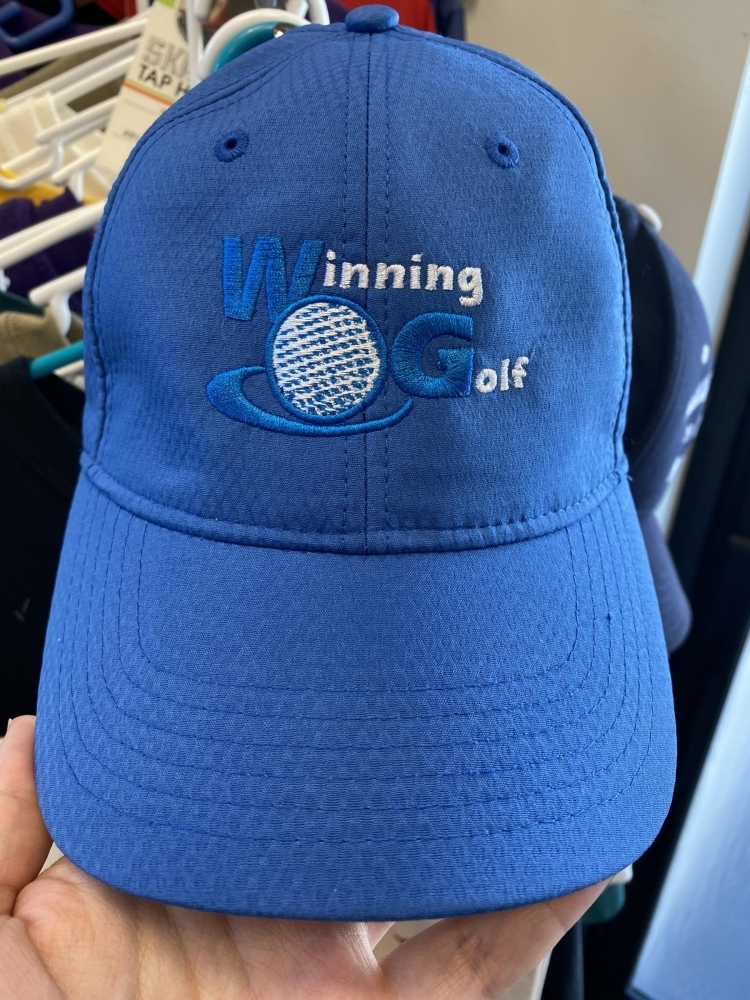 Winning Golf Embroidered Hat
