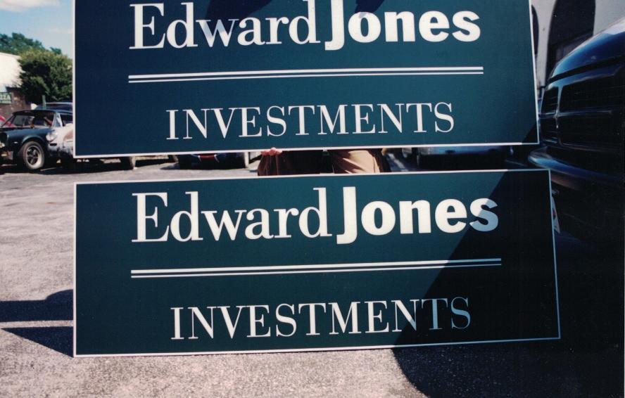 Edward Jones major corps Sign Studios