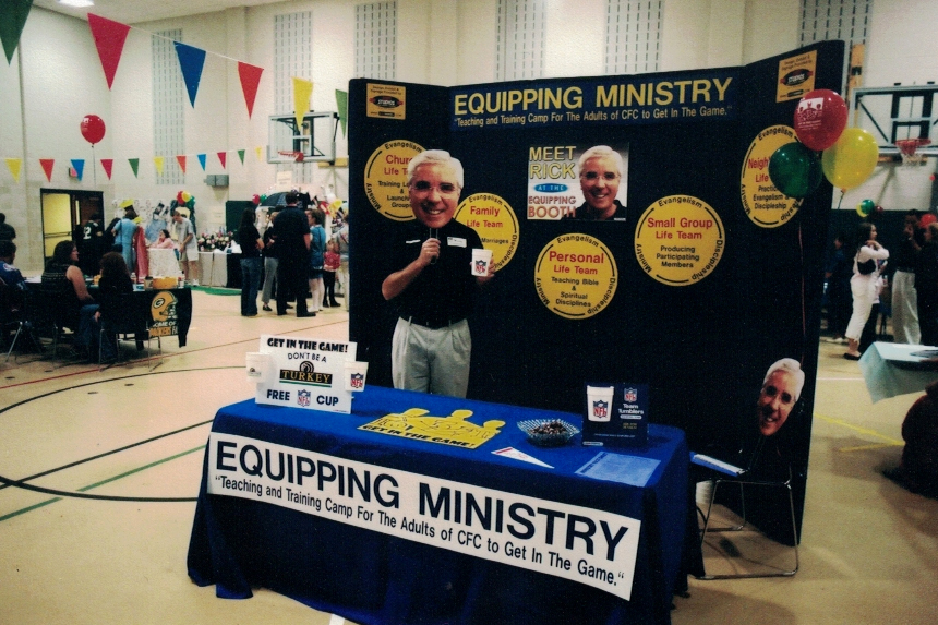 Equpping Ministry Trade Show Sign Studios