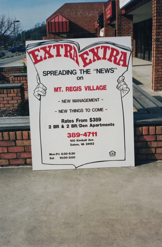 Extra Extra real estate Sign Studios