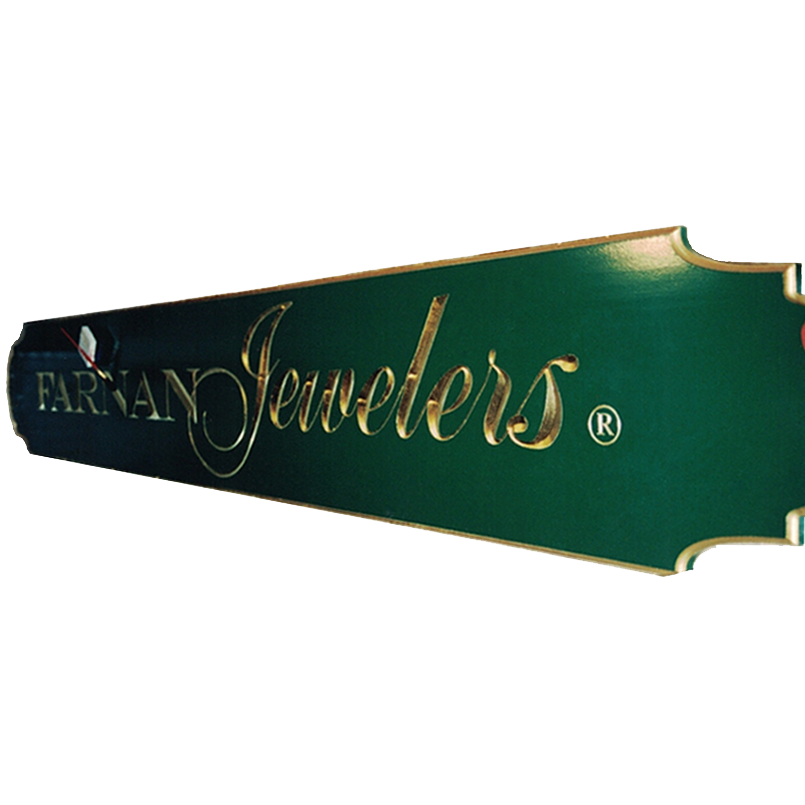 Farnan Jewelers redwood Sign Studios