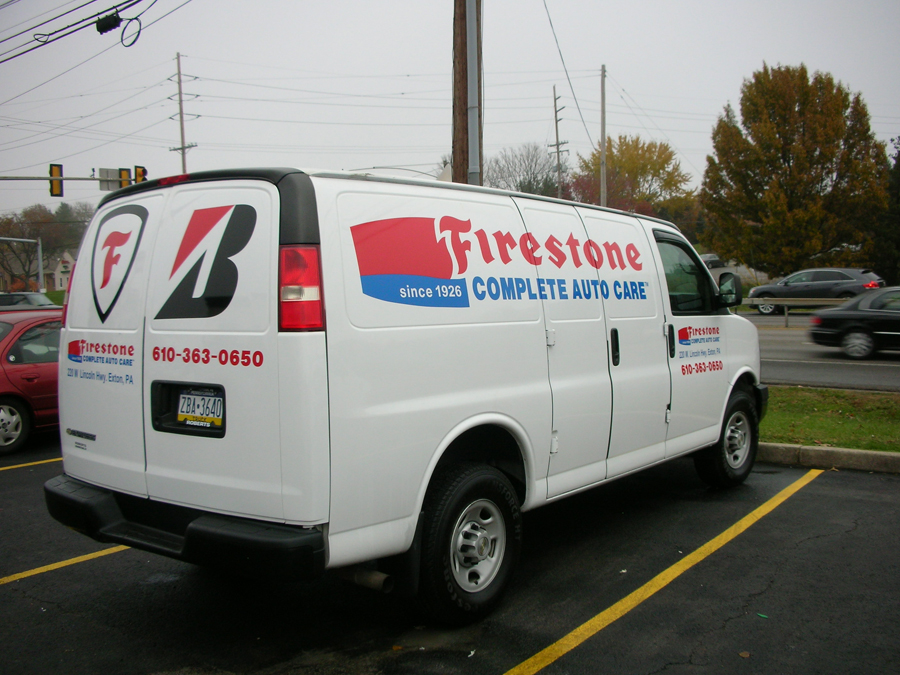 Firestone 3 auto Sign Studios