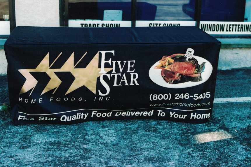 Five Star Table Cover