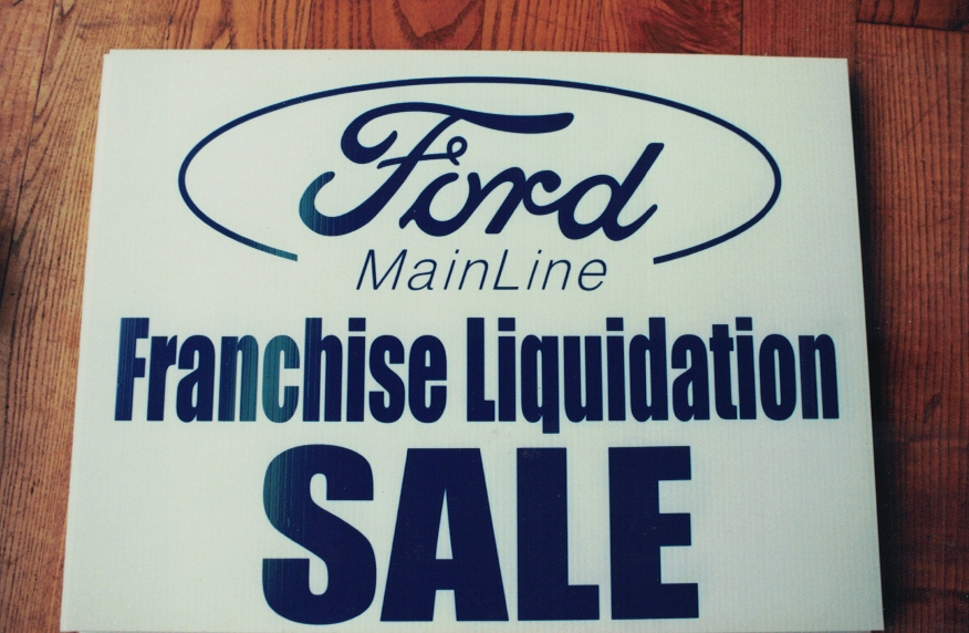 Ford Mainline auto Sign Studios