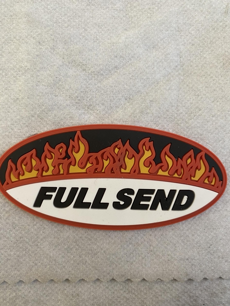 Full Send Rubber Patch