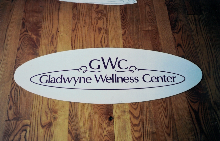 Gladwyne Wellness PVC Sign Studios