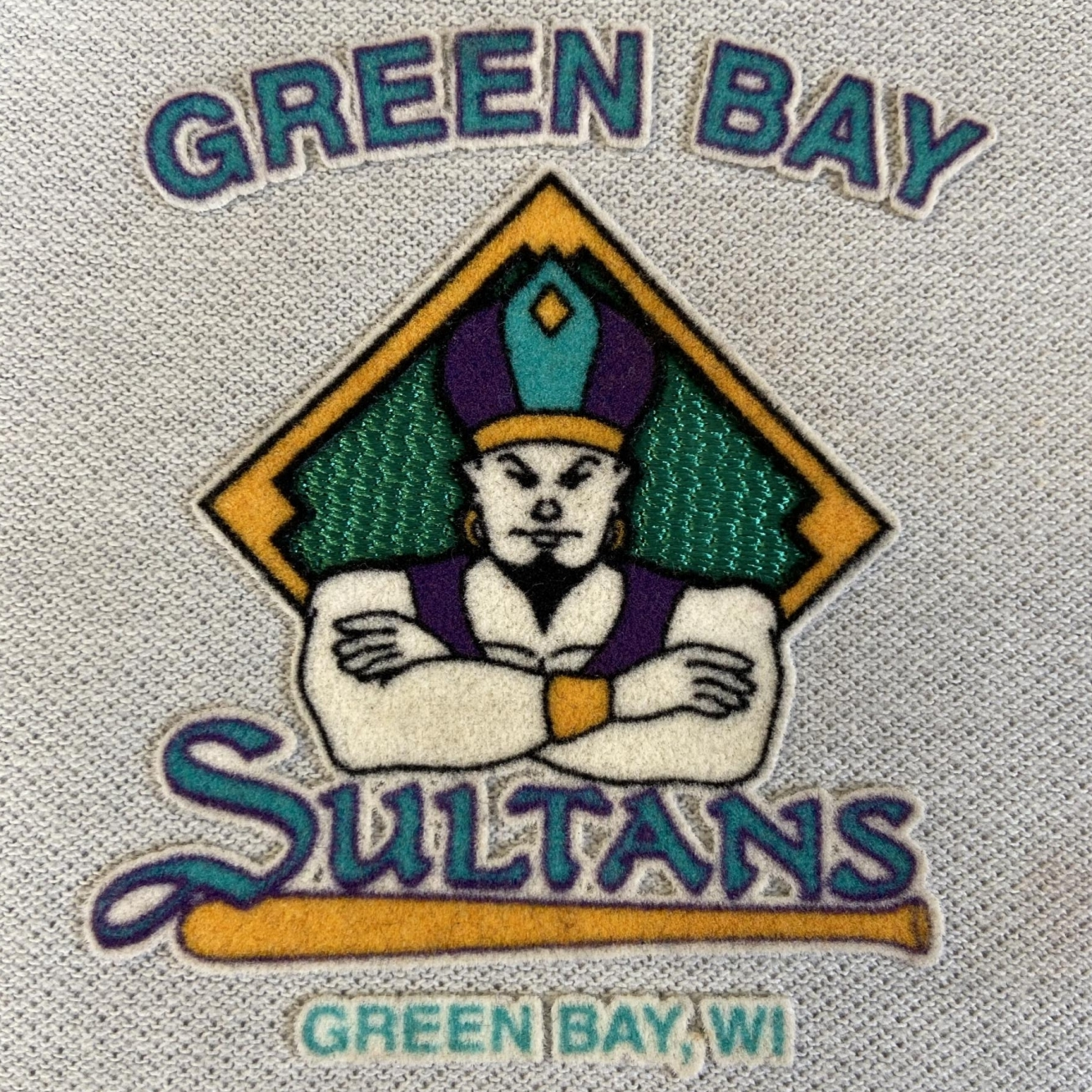 Green Bay Sultans Patch