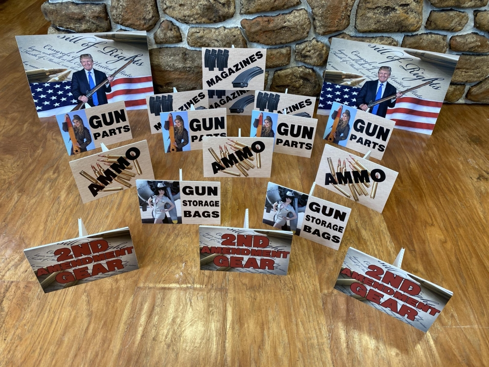 Gun Show Sign Collection