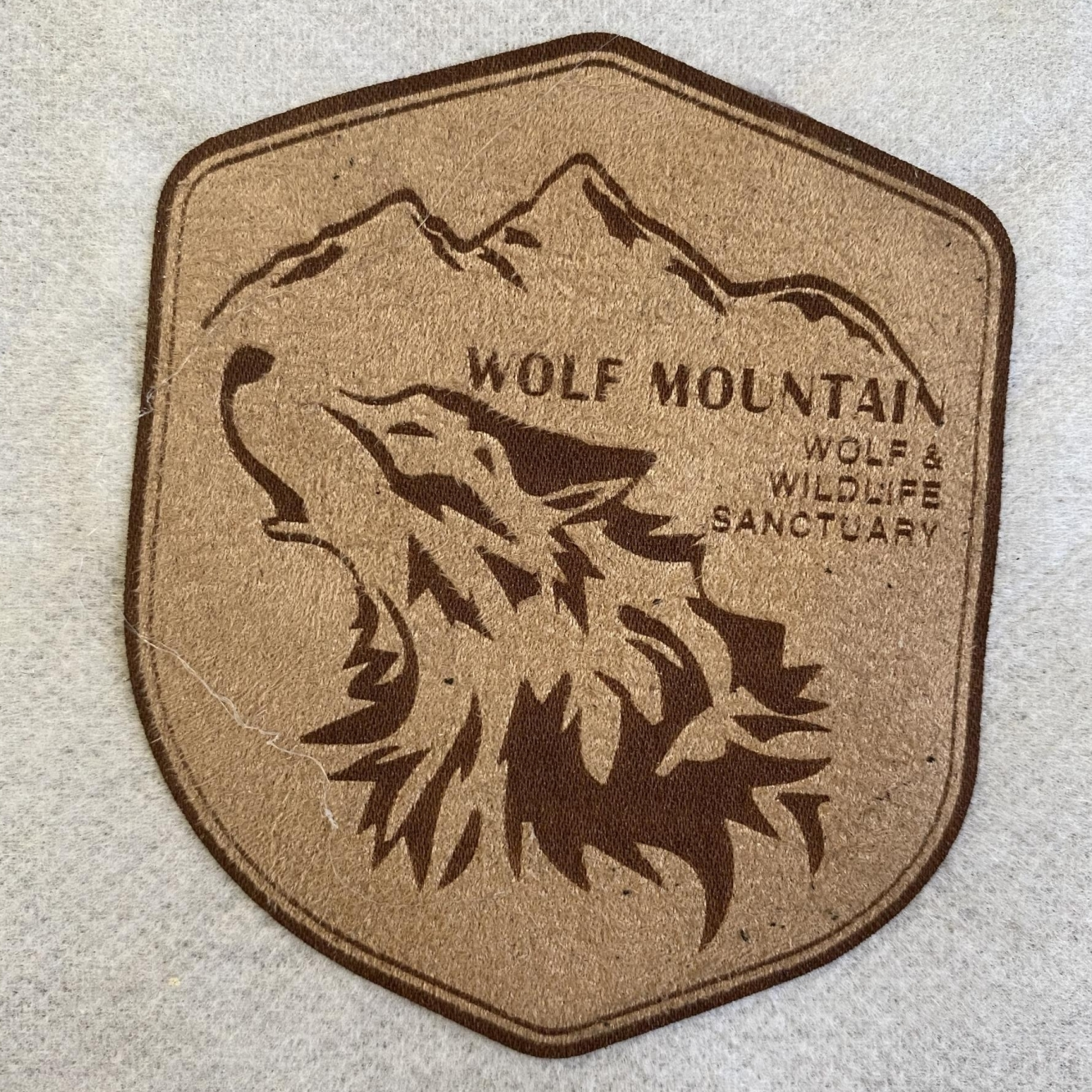 Wolf Mountain Patch Sign Studios