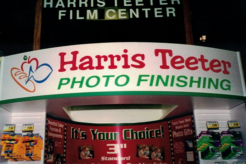 Harris Teeter Trade Show Sign Studios