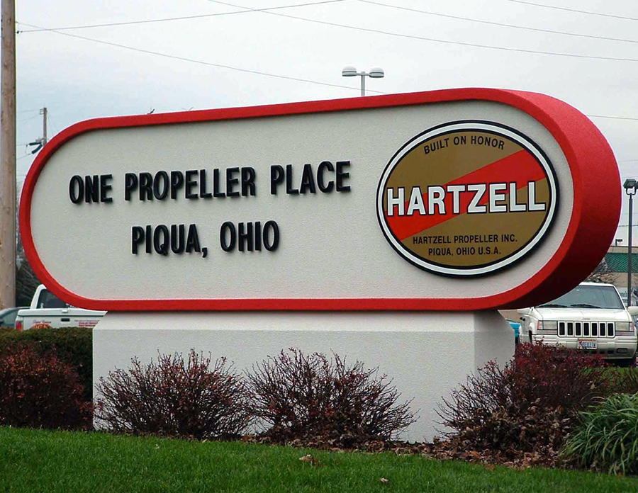 Hatzell monument Sign Studios