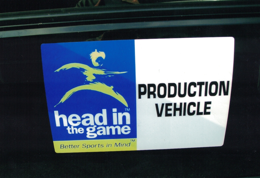 Head in the game magnet Sign Studios
