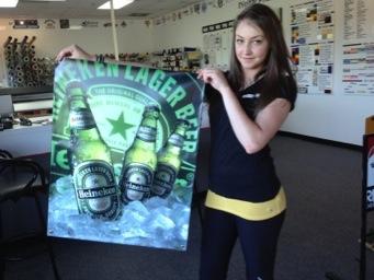 Heineken banner