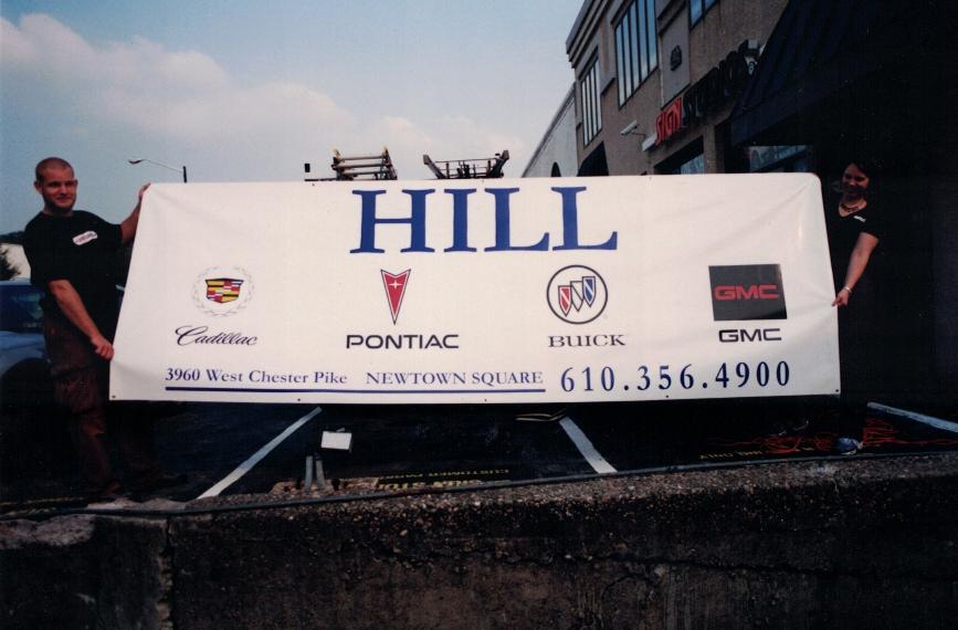 Hill Auto Banner