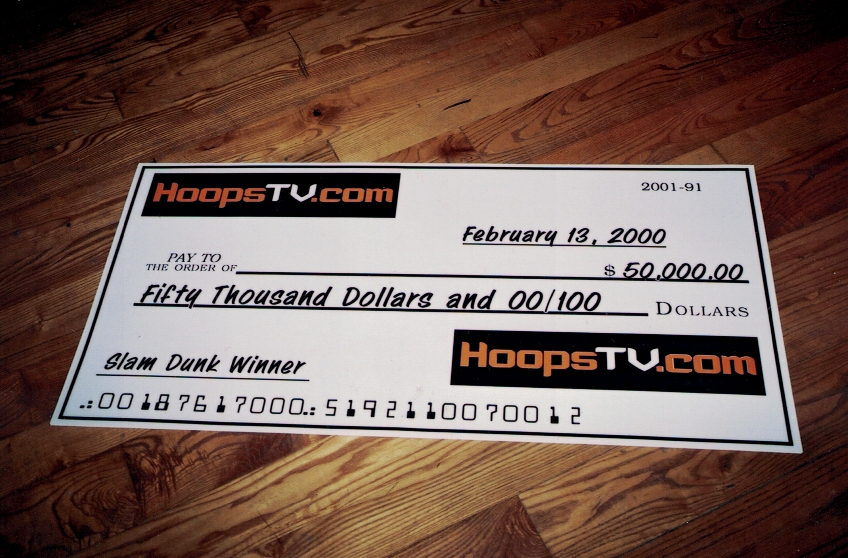 Hoopstv Check Sign Studios
