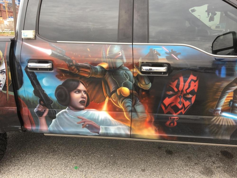 Star Wars Truck Passengers Side doors