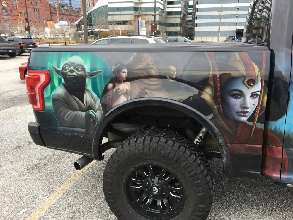 Star Wars Truck Passengers Side back