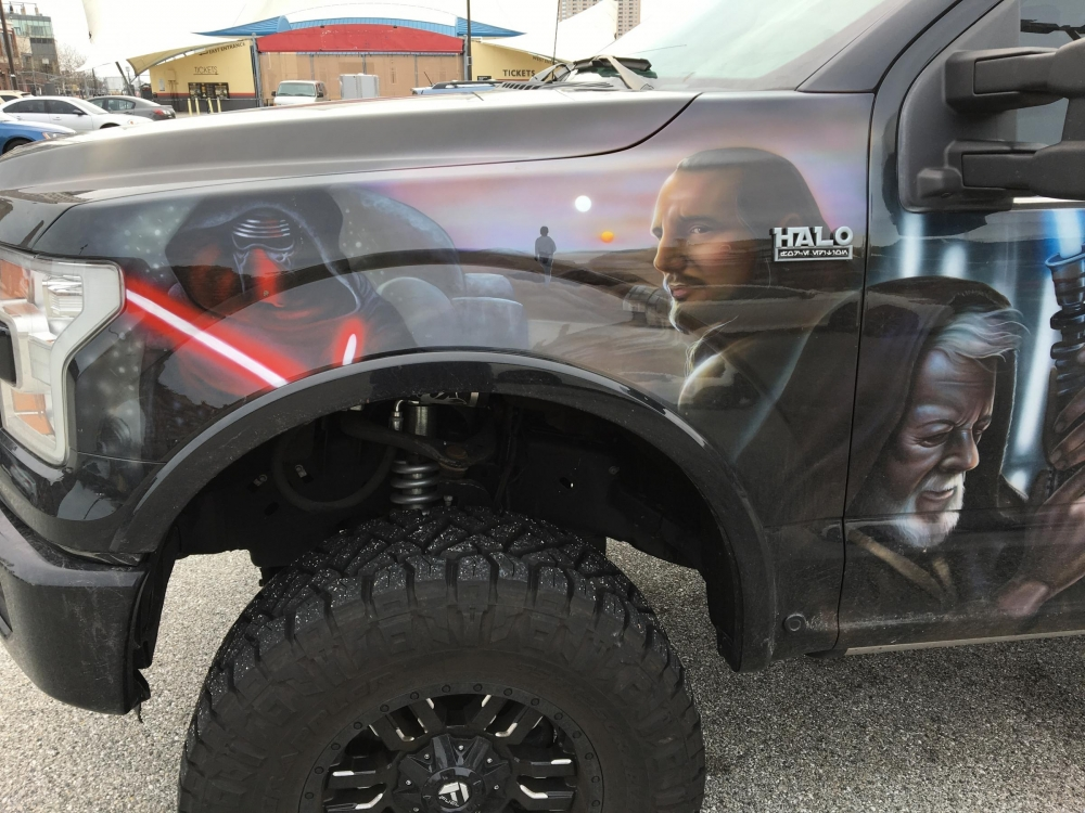 Star Wars Truck Drivers Side front