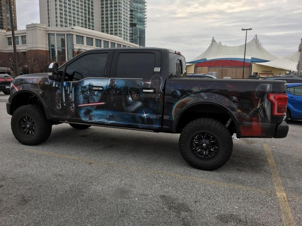 Star Wars Truck