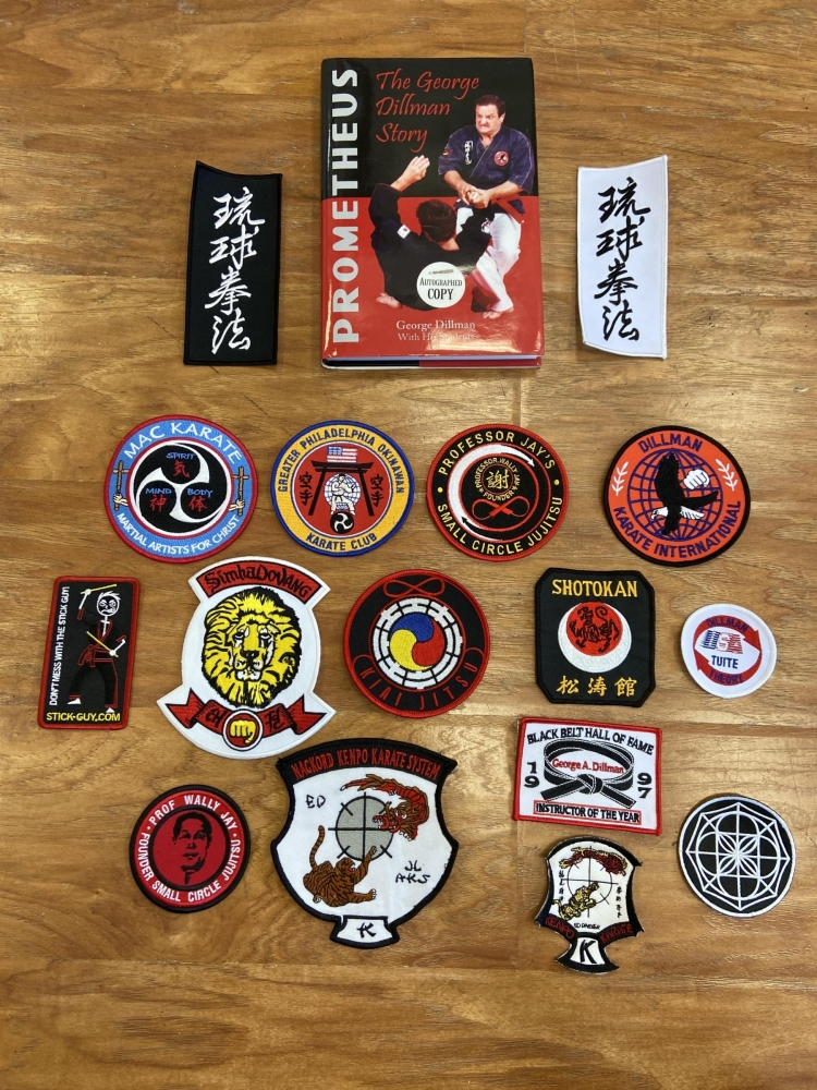 Karate Patches