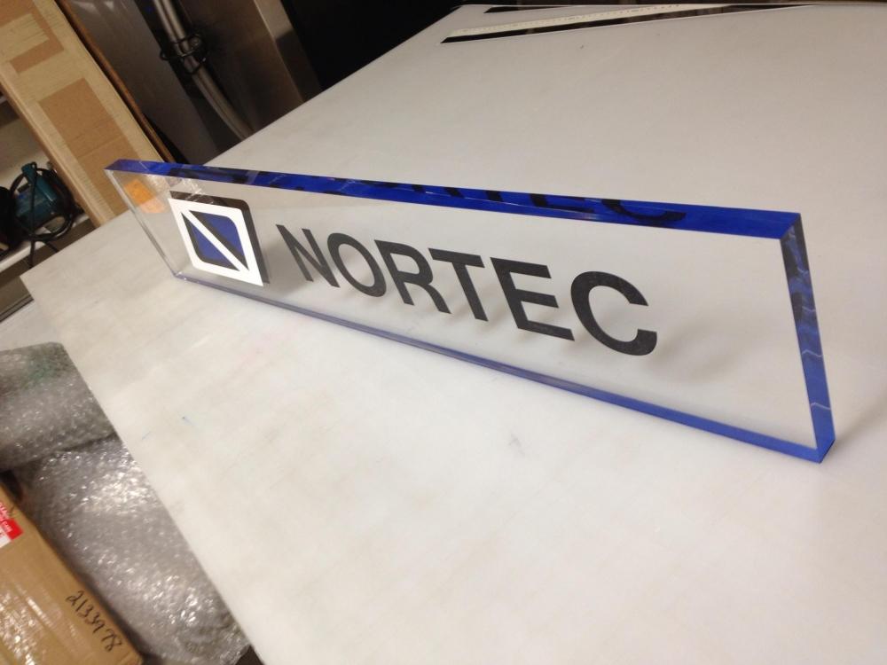 Nortec Name Plate