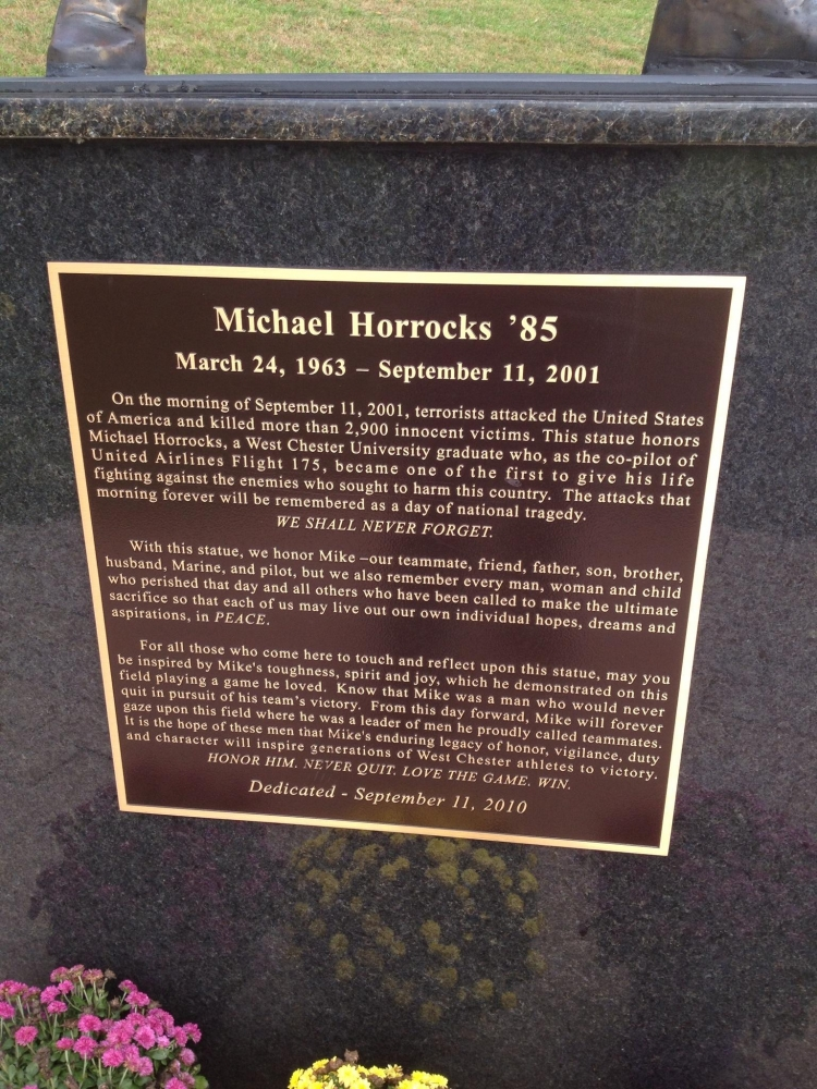 Michael Horrocks Plaque