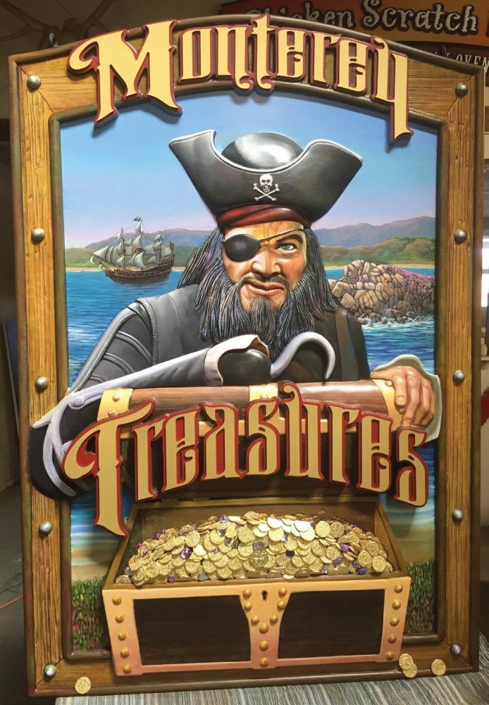 Monterey Treasures Custom