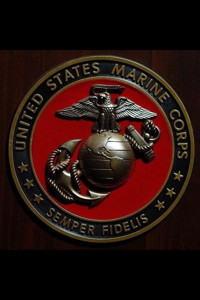 United States Marine Corps Plaque