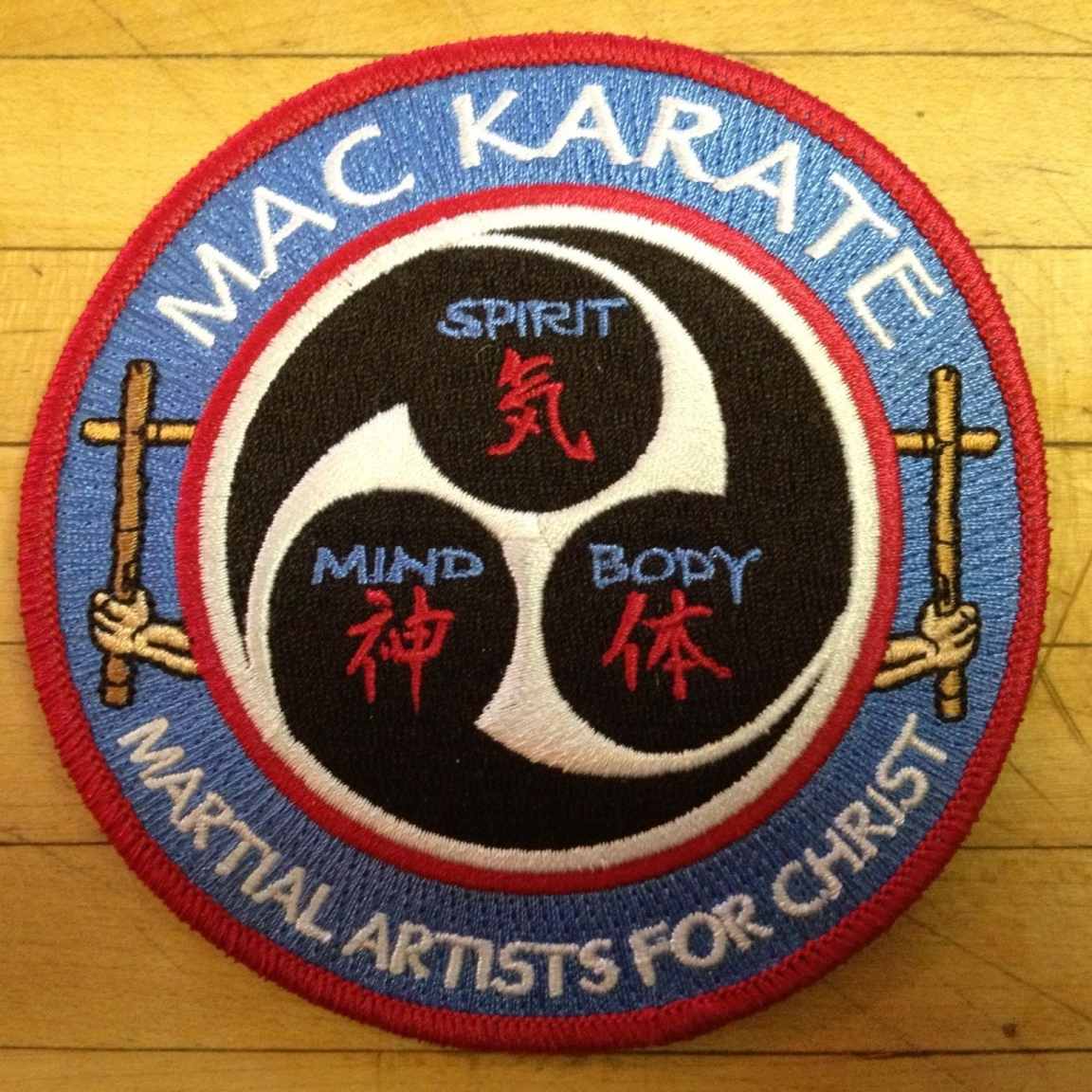 MAC Karate Embroidered Patch