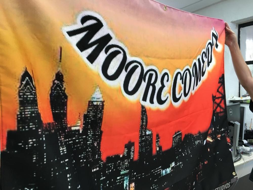 Moore Comedy Flag