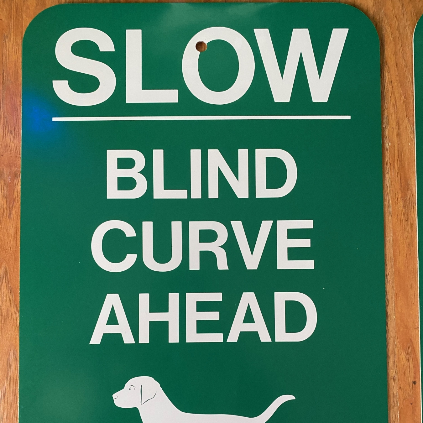 Slow Blind closeup