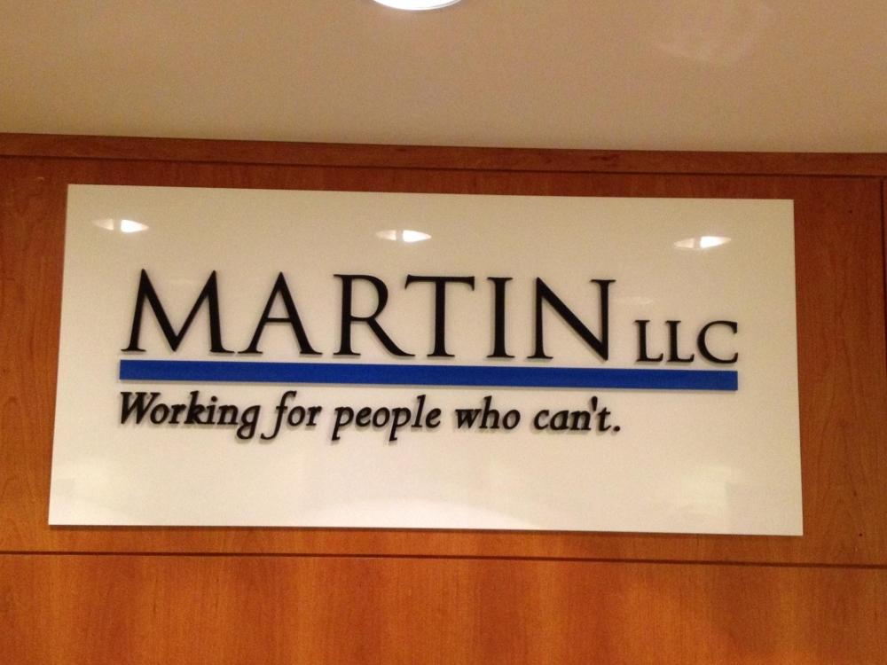 Martin LLC Dimensional Letter