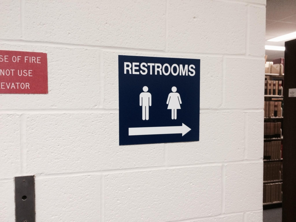 Library Restrooms Architectural